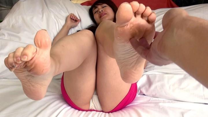 美熟女の足裏