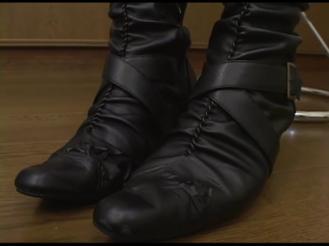 ブーツのアップ画像